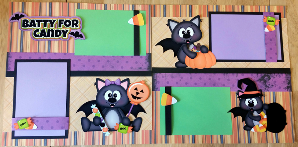 Batty for Candy Page Kit