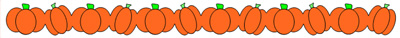 Pumpkin Border Cutting File Set