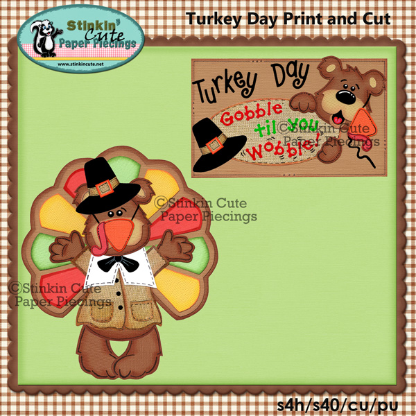 Turkey Day Print & Cut