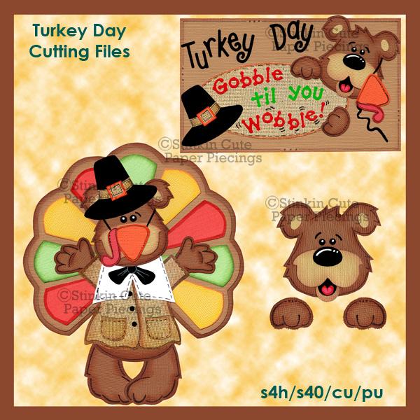 Turkey Day Cutting File Set