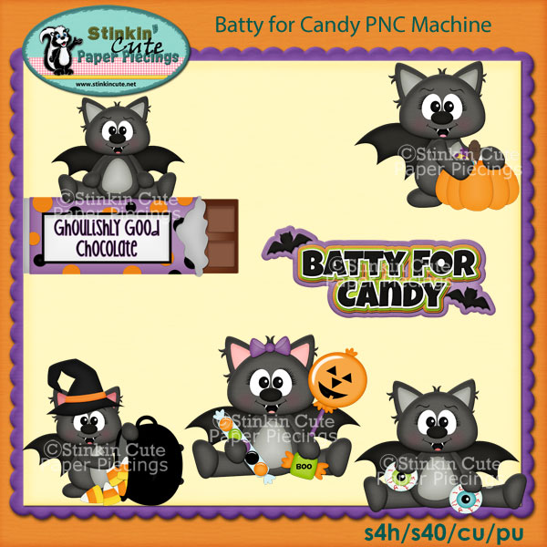 Batty for Candy PNC Machine