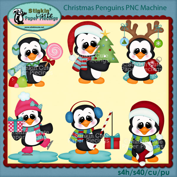Christmas Penguins PNC Machine