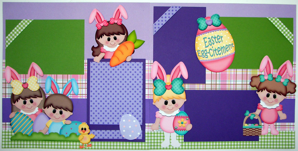Easter Egg-citement Page Kit
