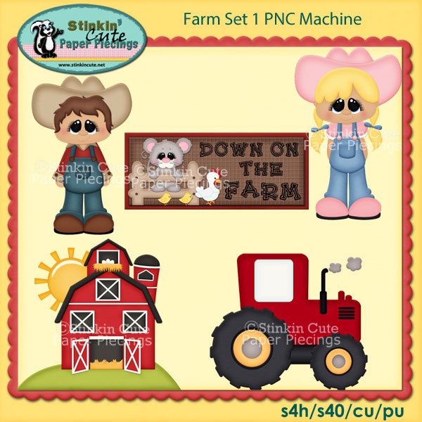 Farm Set 1 PNC Machine