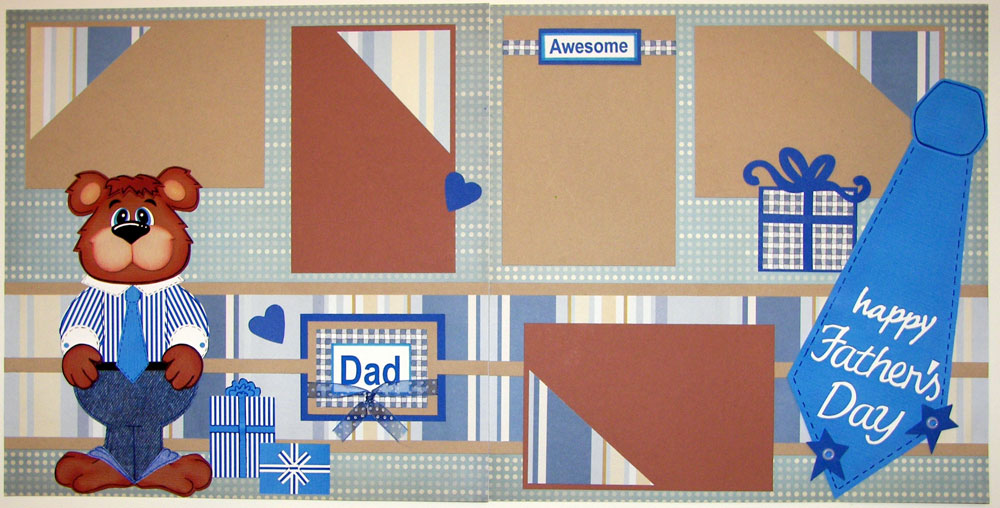 Happy Father's Day Page Kit