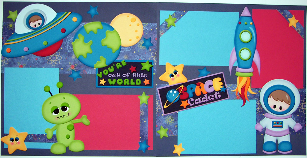 Out of this World Page Kit
