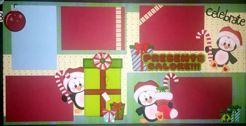 Presents Galore Page Kit