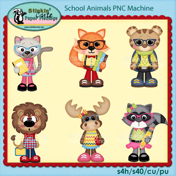 School Animals PNC Machine
