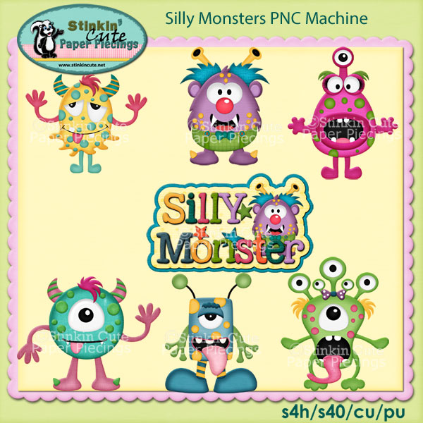 Silly Monsters PNC Machine