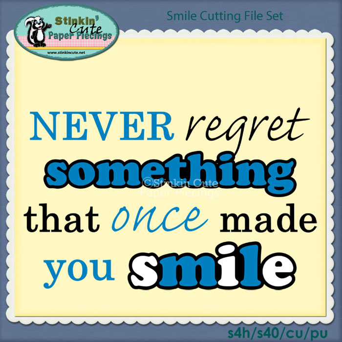 Smile Cutting File Set
