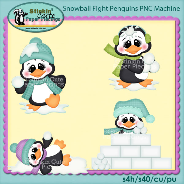 Snowball Fight Penguins PNC Machine