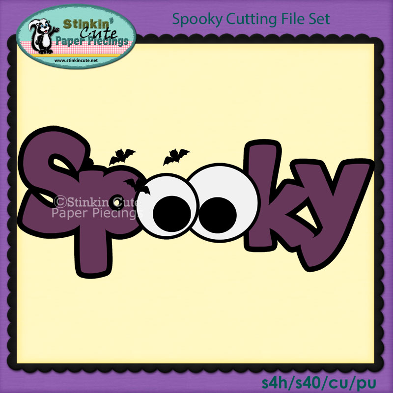 Spooky Cutting File Set