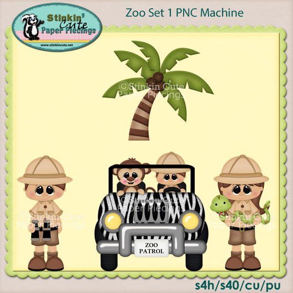 Zoo Set 1 PNC Machine