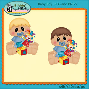 Baby Clip Art Set