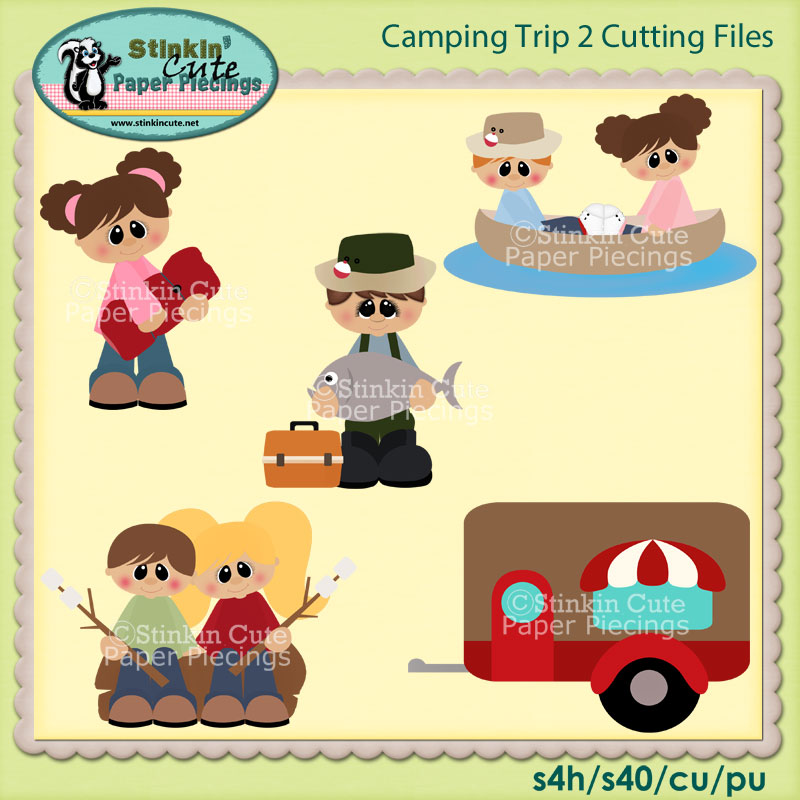 Camping Trip 2 Cutting File Set