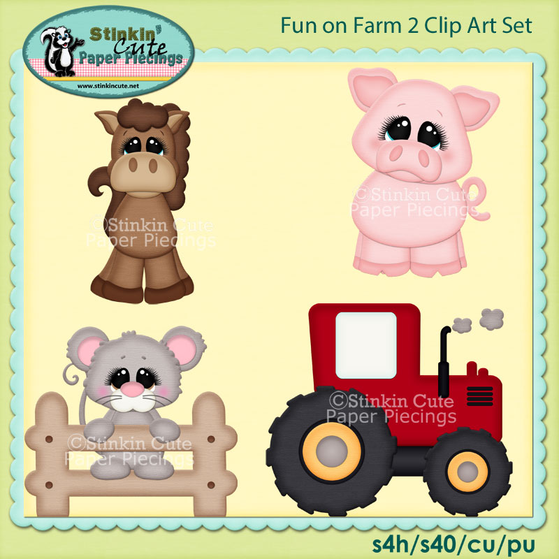 Farm Livin 2 Clip Art Set