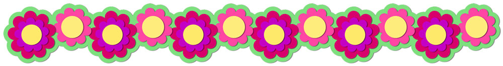 Flower Border 6 Cutting File Set