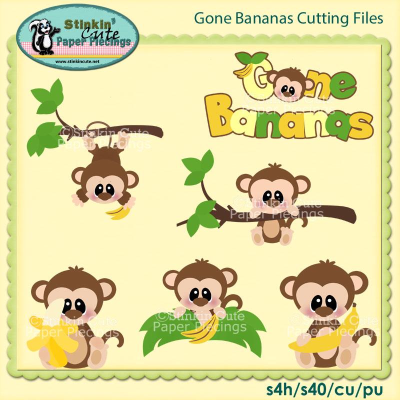 Gone Bananas Cutting File Set