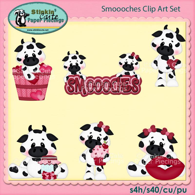 Smoooches Clip Art Set
