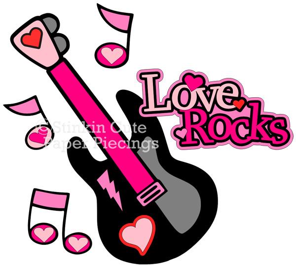 Love Rocks Cutting File Set