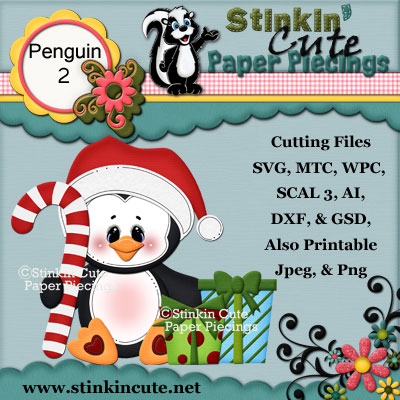 Penguin 2 Cutting File Set