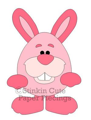 Bunny Egg Cutting File Set