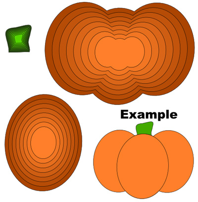 Pumpkin Layers Cutting File Set