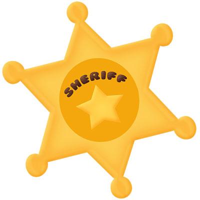 Sheriff Badge Cutting File Set