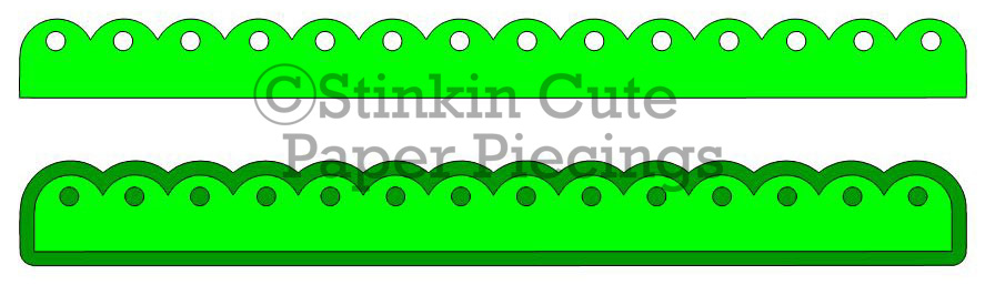 Large Scallop w holes Cutting File Set