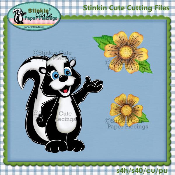Stinkin Cute Cutting File Set