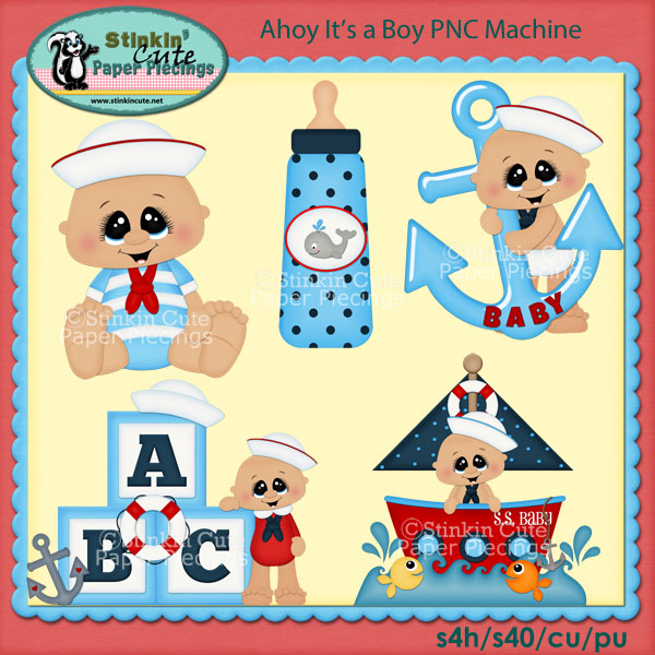 Ahoy It's a Boy PNC Machine