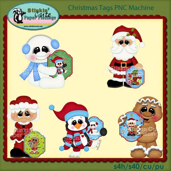 Christmas Tags PNC Machine