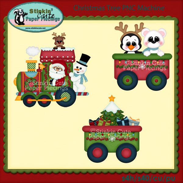 Christmas Train PNC Machine