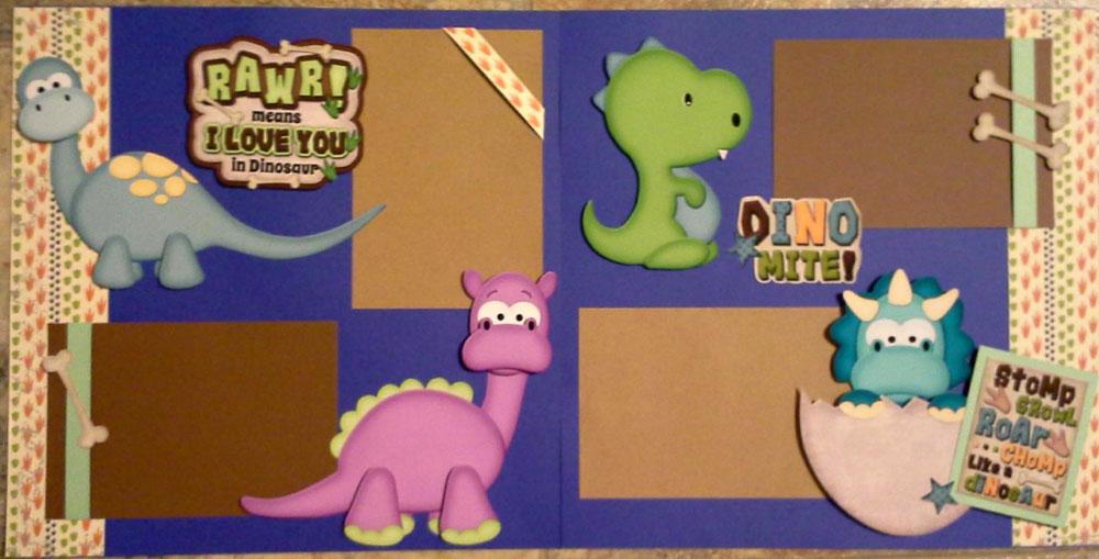 Dinomite Page Kit