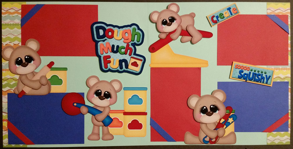 Dough Much Fun Page Kit