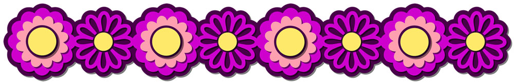 Flower Border 3 Cutting File Set