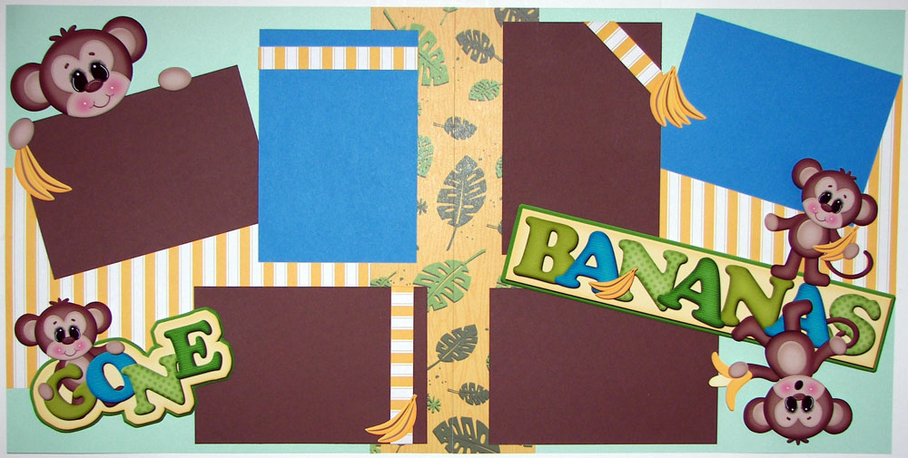 Gone Bananas Page Kit