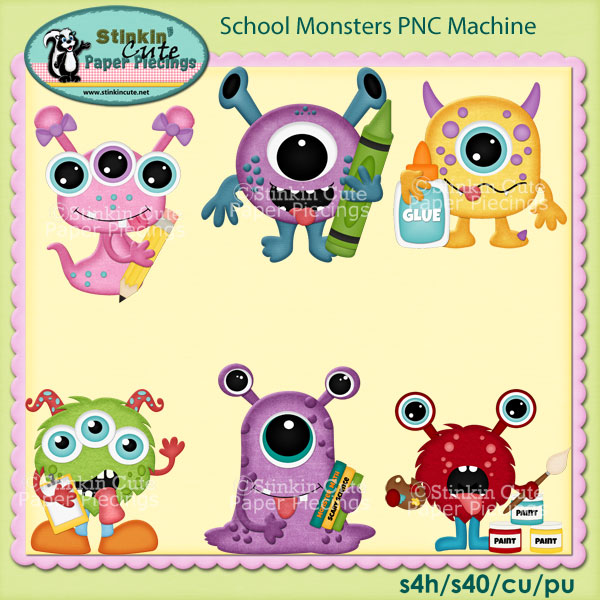 School Monsters PNC Machine