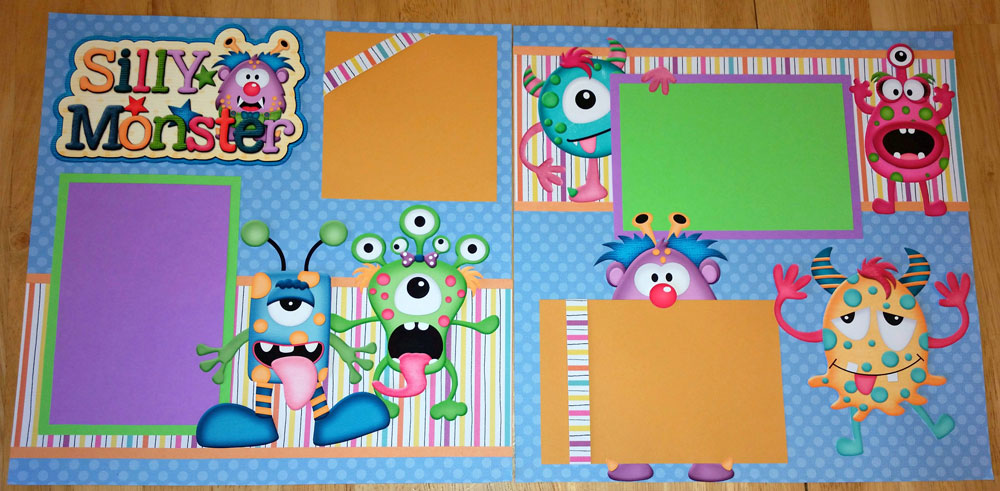 Silly Monsters Page Kit