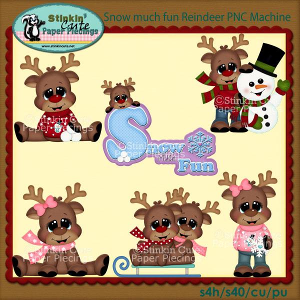 Snow much fun Reindeer PNC Machine
