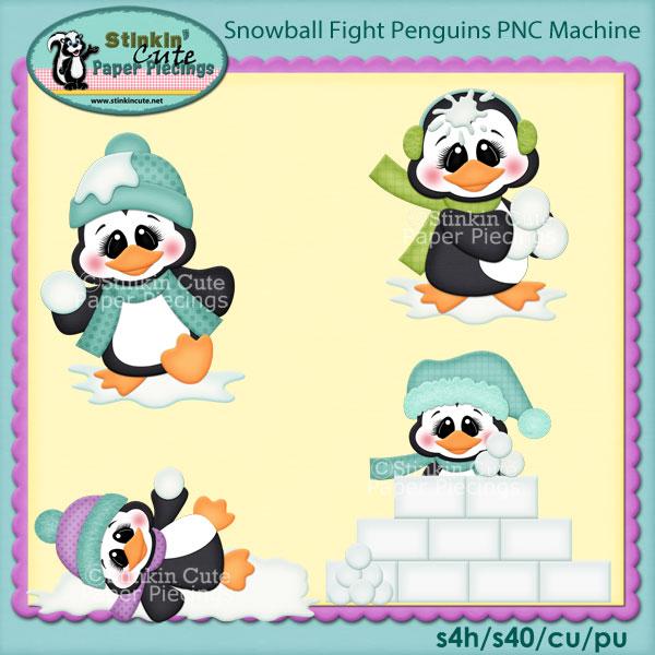 Snowball Fight Penguins PNC Machine