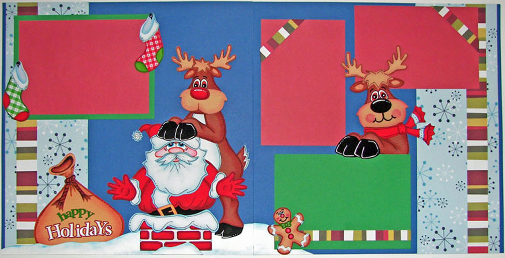 Stuck Santa Page Kit
