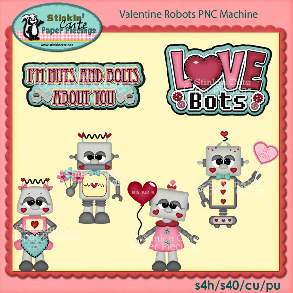Valentine Robots PNC Machine
