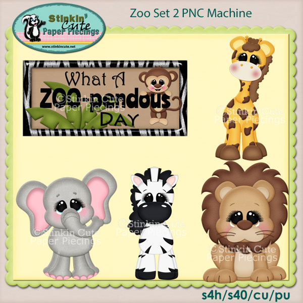 Zoo Set 2 PNC Machine