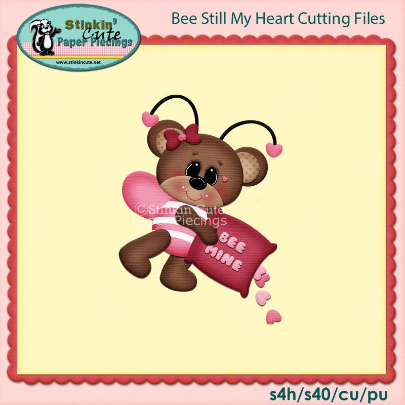 Bee still my heart Cutting File Set