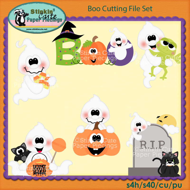 Boo Cutting File Set