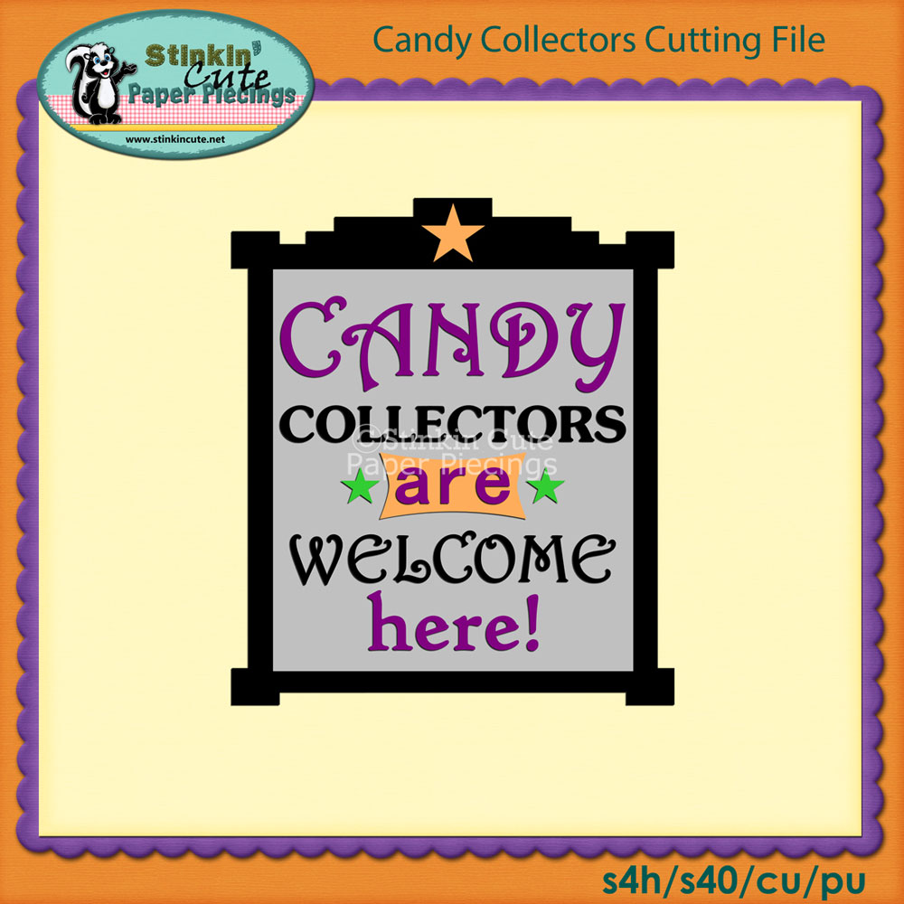 Candy Collectors Cutting File Set