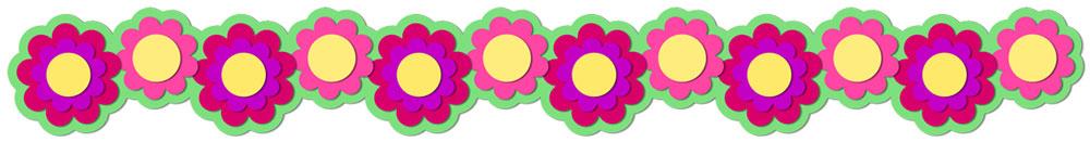 Flower Border 6 Cutting File Set