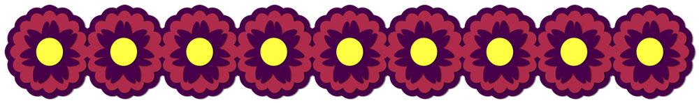 Flower Border 8 Cutting File Set
