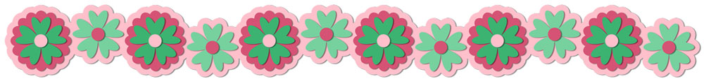 Flower Border 7 Cutting File Set